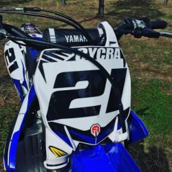 Plaque numéro frontale Cycra Stadium pour Yamaha YZ250F 2019