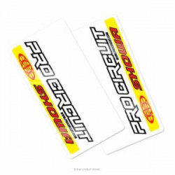 Autocollants de protection de fourche Pro Circuit - SHOWA