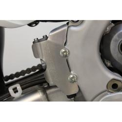 Protection de maitre cylindre arrière Works Connection pour Honda CRF250R 14-19/CRF450R 13-19