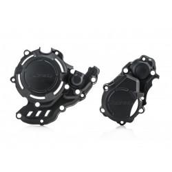 Kit protections de couvercles Acerbis X-Power pour KTM & Husqvarna 250,350 EXC-F/FE 17-19