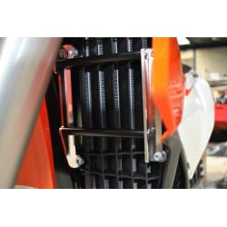 Protections de radiateur AXP Racing pour KTM & Husqvarna 125->450 SX/SX-F/TC/FC 16-17