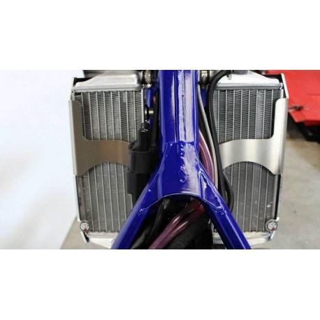 Protections de radiateur AXP Racing noires pour Sherco SE-R125 2018