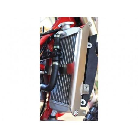 Protections de radiateur AXP Racing noires pour GAS GAS EC250/300 2018