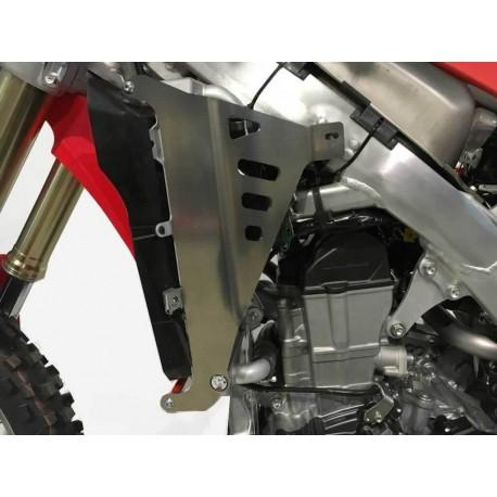 Protections de radiateur AXP Racing rouges pour Honda CRF250R 2018