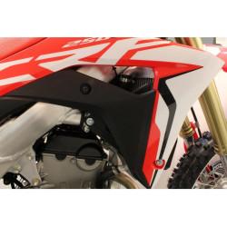 Protections de radiateurs Works Connection noires pour Honda CRF450R 2019