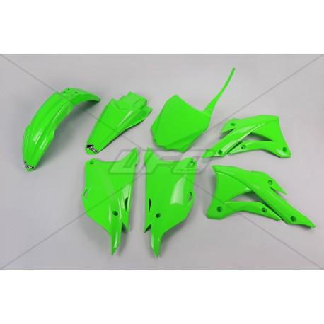 Kit plastique Ufo Plast pour Kawasaki KX85 14-19