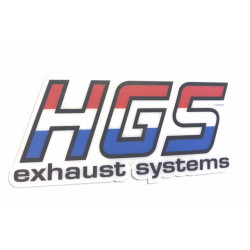 HGS STICKER 2 STROKE