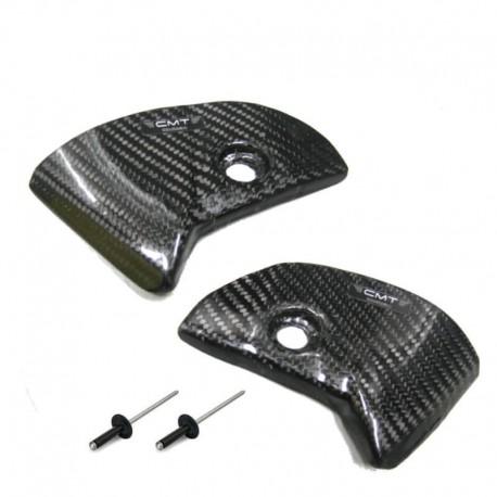 Protection carbone de plaques latérales pour Honda CRF250 18-19/CRF450 17-19