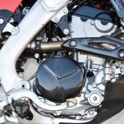 Protection carbone de carter d'embrayage pour Honda CRF250R 18-19