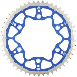 Couronne Moto-Master Fusion Dual Ring bleue pour KTM & Husqvarna SX/TC 85