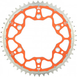 Couronne Moto-Master Fusion Dual Ring orange pour KTM & Husqvarna SX/TC 65