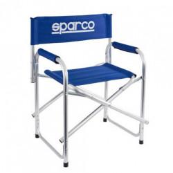 Pack 3 chaises pliante Sparco bleues