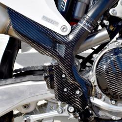 Protection carbone de cadre pour KTM SX/SX-F 19-20