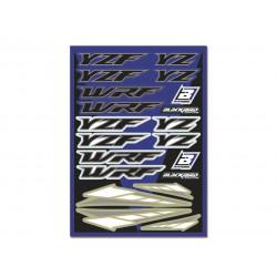Planche d'autocollants Yamaha