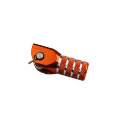 Embout de remplacement orange pour selecteur de vitesse SCAR
