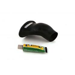 Prise d'air carbone VHM pour KTM SX125/Husqvarna TC125 16-20
