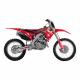 Kit déco + Housse de selle Réplica Team Geico pour Honda CRF250R 14-17/CRF450R 13-16