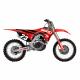 Kit déco + Housse de selle Réplica Team Geico pour Honda CRF250R 18-20/CRF450R 17-20
