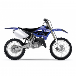 Kit déco + Housse de selle Réplica Team Yamaha Factory Racing pour Yamaha YZ125/250 02-14