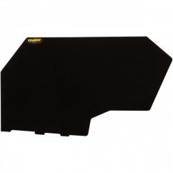 Plaque numéro noir MAIER pour POLARIS RZR XP 1000/TURBO 14-19