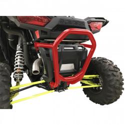 Bumper arrière rouge Moose Racing pour Polaris RZR 900/XP 1000/XP4 1000 15-18
