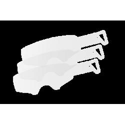 Pack de 2x7 tear-offs laminé pour masques Leatt Velocity 4.5/5.5/6.5