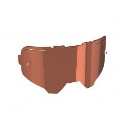 Ecran rose UC ventillée enduro pour masques Leatt Velocity 4.5/5.5/6.5