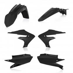 Kit plastique sans plaque avant Acerbis noir pour Yamaha