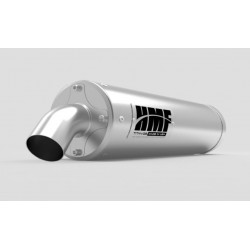 Échappement HMF Titan-QS-series Inox pour Polaris RZR S 900/ 4/ Trail 15-18
