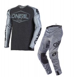 Tenue complete O'neal Mayem Grey/Black
