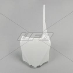 Plaque numéro frontale Ufo Plast pour Kawasaki KX85 14-19