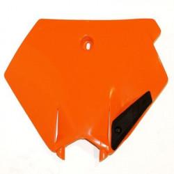 Plaques numéro frontales Ufo Plast pour KTM SX125 03-06