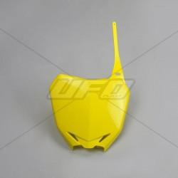 Plaque numéro frontale Ufo Plast pour Suzuki RM-Z250 10-18/RM-Z450 08-17
