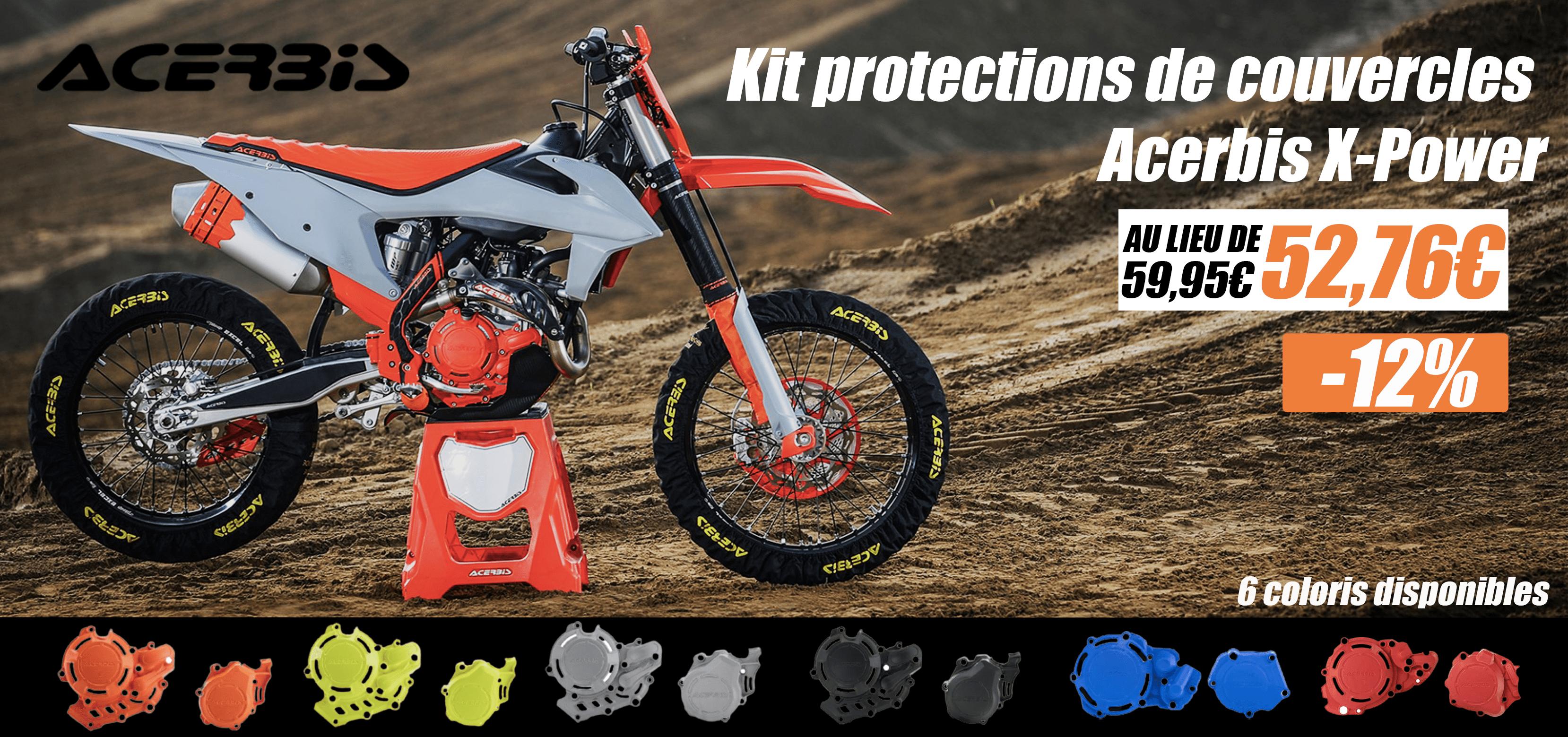 Kit protections de couvercles Acerbis X-Power