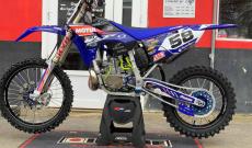 Une Yamaha YZ250 qui brille !